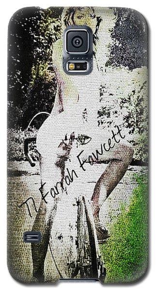'77 Farrah Fawcett Galaxy S5 Case
