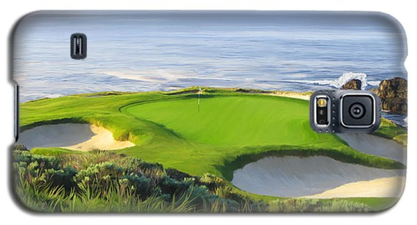 7th Hole At Pebble Beach Galaxy S5 Case