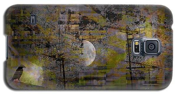 Galaxy S5 Case featuring the digital art What Is Real Is Not The Exterior But The Idea, The Essence Of Things.  by Danica Radman