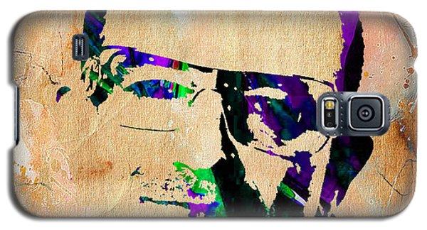 Bono U2 Galaxy S5 Case by Marvin Blaine