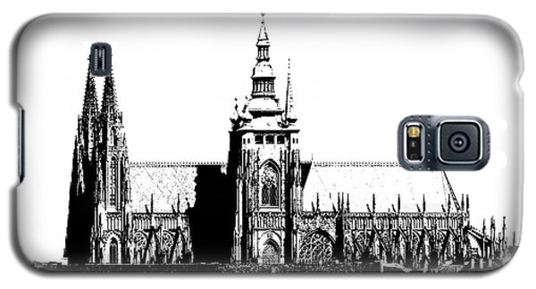Cathedral Of St Vitus Galaxy S5 Case by Michal Boubin