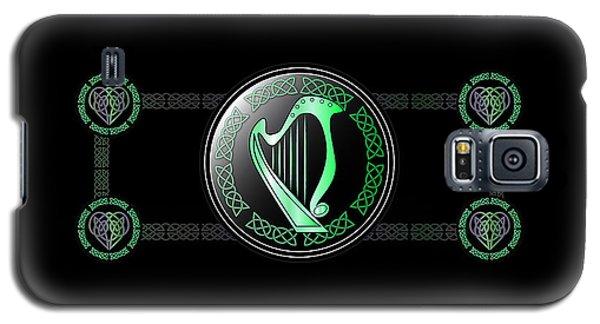 Celtic Harp Galaxy S5 Case by Ireland Calling
