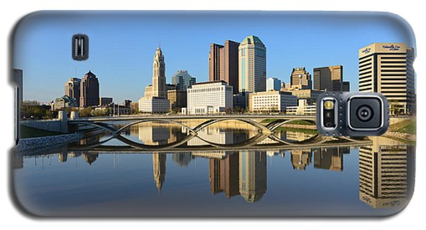 Fx1l-1058 Columbus Ohio Skyline Photo Galaxy S5 Case