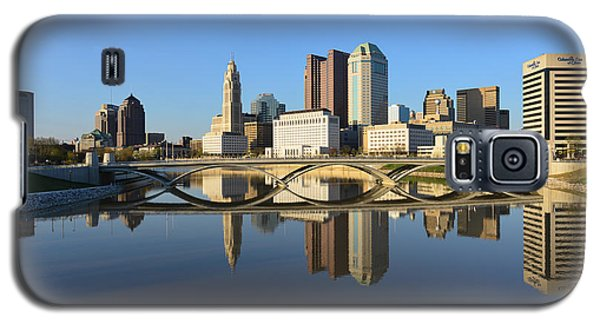 Fx1l-1058 Columbus Ohio Skyline Photo Galaxy S5 Case