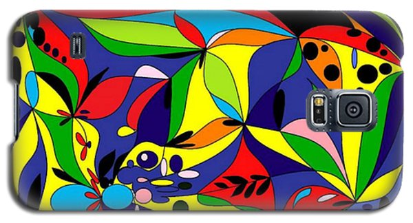 Galaxy S5 Case featuring the digital art Design By Loxi Sibley by Loxi Sibley