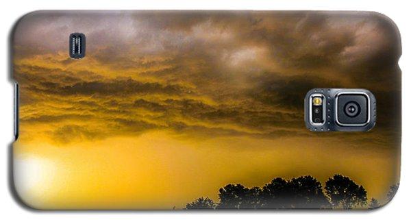 Late Afternoon Nebraska Thunderstorms Galaxy S5 Case