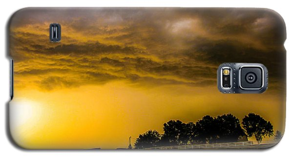Late Afternoon Nebraska Thunderstorms Galaxy S5 Case