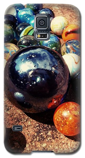 Nerd Galaxy S5 Case - Marbles by Candy Floss Happy