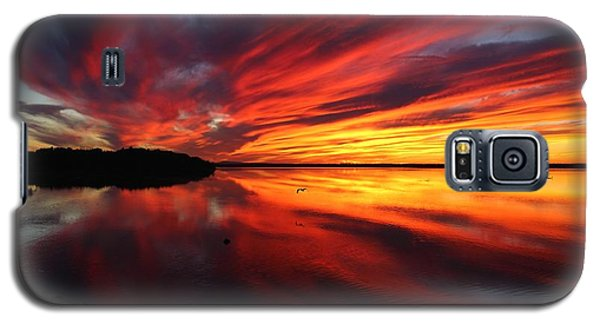 Missisquoi Sunset Galaxy S5 Case