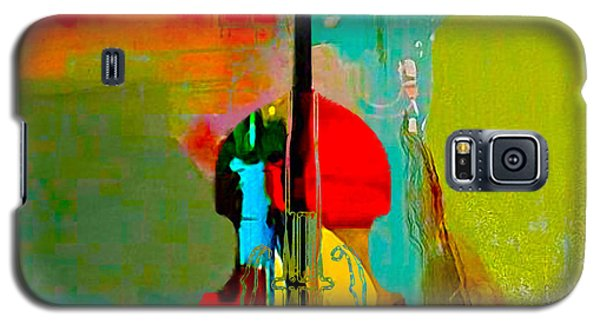 Upright Bass Galaxy S5 Case by Marvin Blaine