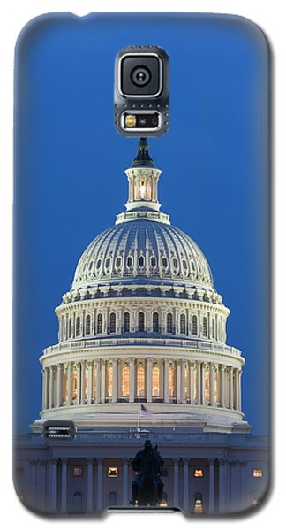 Capitol Building Galaxy S5 Case - Usa, Washington, D by Jaynes Gallery