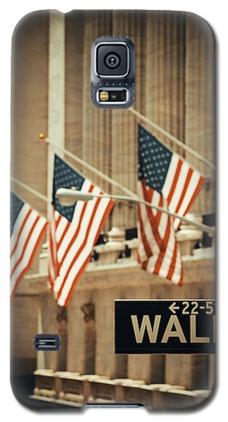 Wall Street Galaxy S5 Case