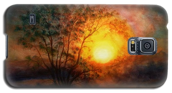 Earth Light Series Galaxy S5 Case by Len Sodenkamp