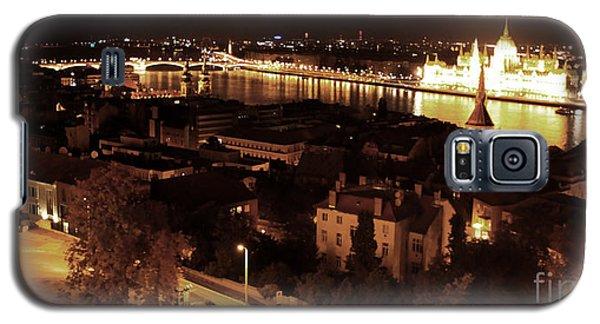 Budapest Hungary Night Panorama Galaxy S5 Case
