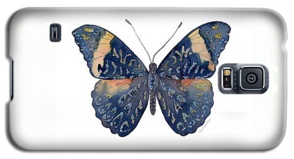 89 Red Cracker Butterfly Galaxy S5 Case