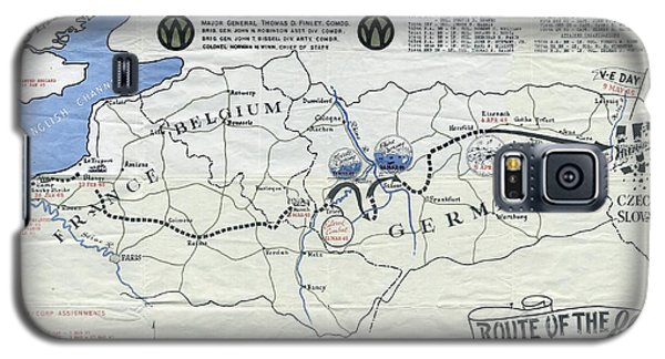 89th Infantry Division World War I I Map Galaxy S5 Case