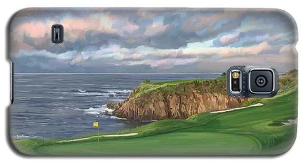 8th Hole Pebble Beach Galaxy S5 Case by Tim Gilliland