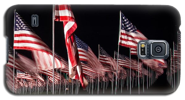 9-11 Flags Galaxy S5 Case by Gandz Photography