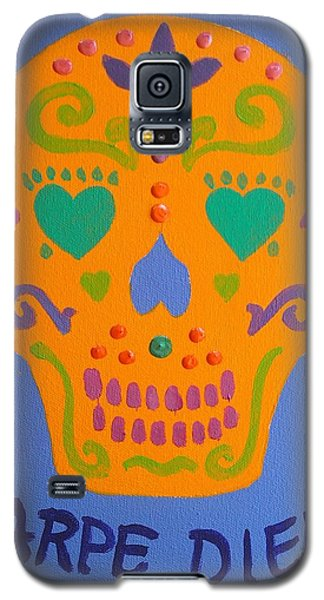 Carpe Diem Series Galaxy S5 Case by Janet McDonald