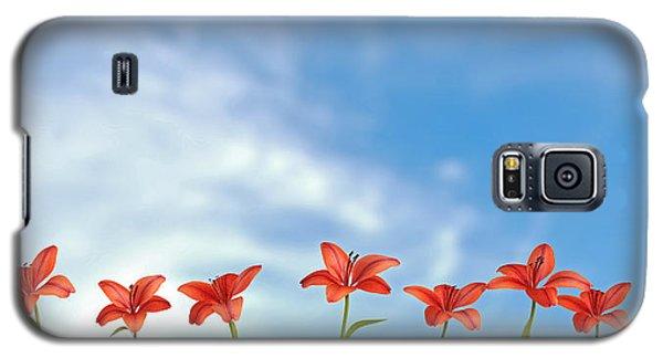 9 Lilies Galaxy S5 Case