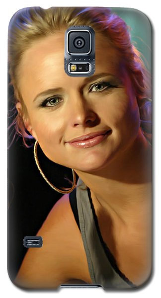 Galaxy S5 Case featuring the photograph Miranda Lambert by Don Olea