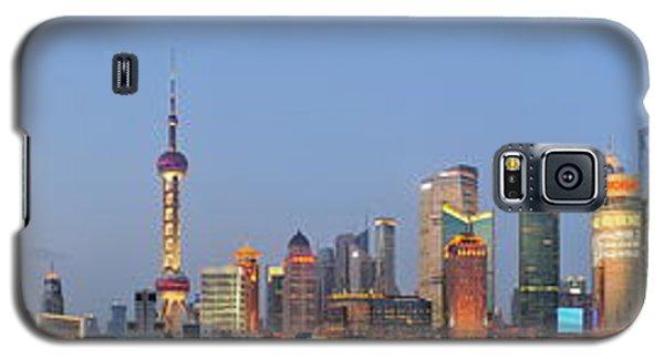 Shanghai Cityscape Galaxy S5 Case