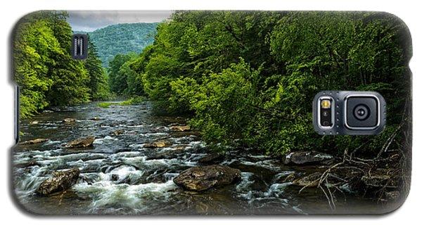Spring Along Cranberry River Galaxy S5 Case