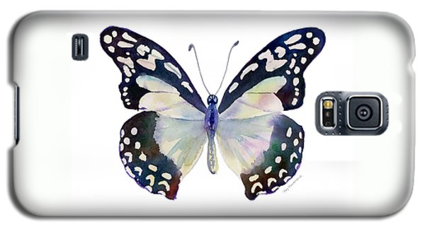 90 Angola White Lady Butterfly Galaxy S5 Case