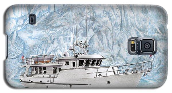 65 Foot World Cruising Yacht Galaxy S5 Case by Jack Pumphrey