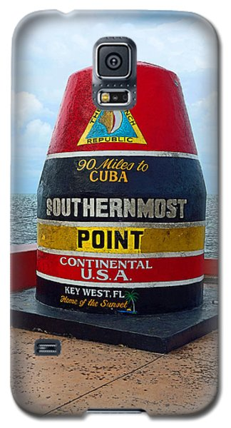 Southernmost Point Key West - 90 Miles To Cuba Galaxy S5 Case
