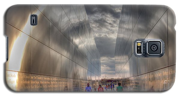 Galaxy S5 Case featuring the photograph 911 Halo by David Bishop