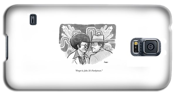 A 70's Disco Man Speaks To Jack Nicholson's Galaxy S5 Case