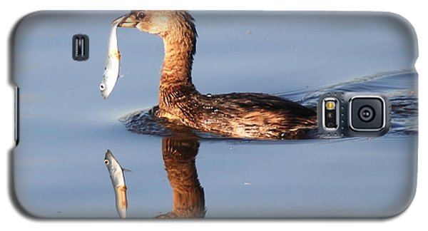 Galaxy S5 Case featuring the photograph A Bad Reflection by Kathy Gibbons