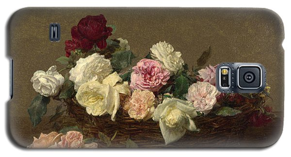 A Basket Of Roses Galaxy S5 Case