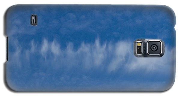 Galaxy S5 Case featuring the photograph A Batch Of Interesting Clouds In A Blue Sky by Eti Reid