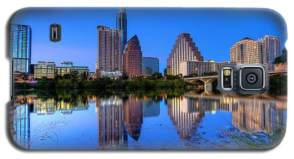 Galaxy S5 Case featuring the photograph A Beautiful Austin Evening by Dave Files