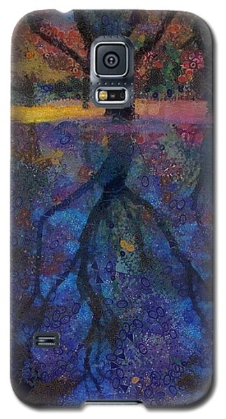 Galaxy S5 Case featuring the painting A Beautiful Reflection  by Catherine Lott
