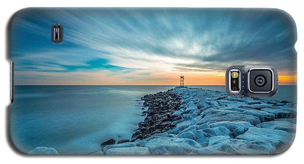 A Beautiful Sunrise At The Old Scituate Lighthouse Galaxy S5 Case