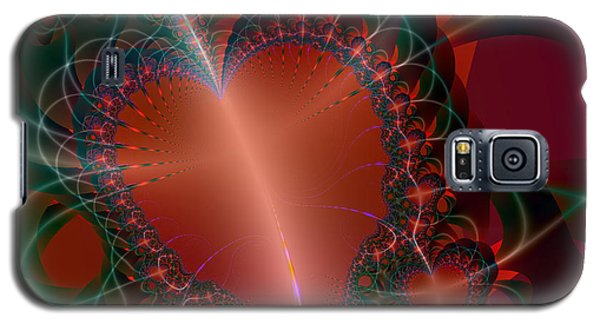 Galaxy S5 Case featuring the digital art A Big Heart by Ester  Rogers