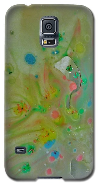 Galaxy S5 Case featuring the photograph A Bird In Flight by Robin Coaker