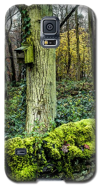 A Birdhouse In The Woods Galaxy S5 Case