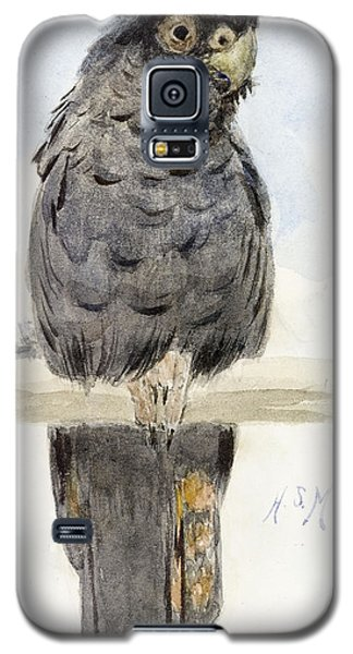 Audubon Galaxy S5 Case - A Black Cockatoo by Henry Stacey Marks