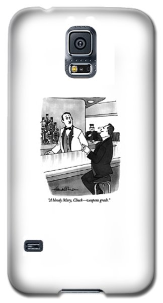 Bloody Mary Galaxy S5 Case - A Bloody Mary by J.B. Handelsman