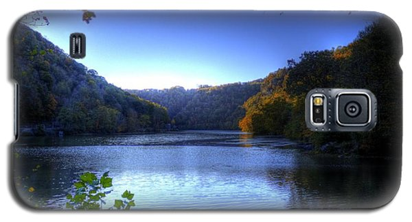 A Blue Lake In The Woods Galaxy S5 Case