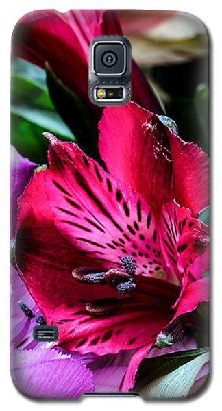 A Bouquet Of Peruvian Lilies Galaxy S5 Case
