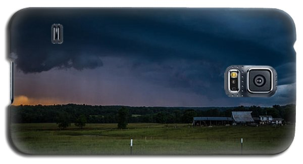Galaxy S5 Case featuring the photograph A Brewing Storm by Julie Clements