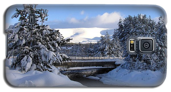 A Bridge In The Snow Galaxy S5 Case