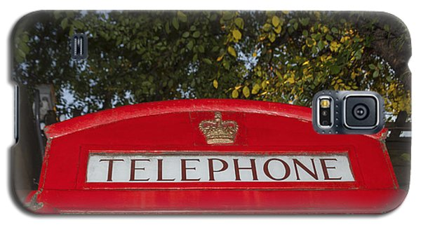 A British Phone Box Galaxy S5 Case