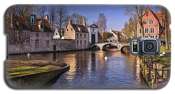 Blue Bruges Galaxy S5 Case by Carol Japp