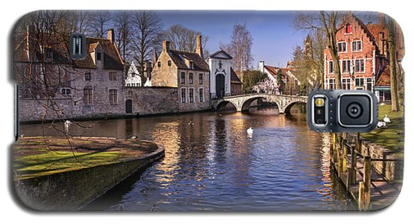 Blue Bruges Galaxy S5 Case by Carol Japp